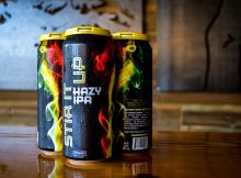 image of a 4-pack of Stir It Up Hazy IPA courtesy of Everybody's Brewing