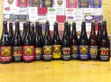 image of bottles that are part of the Raid the Cellar are courtesy of Cascade Brewing