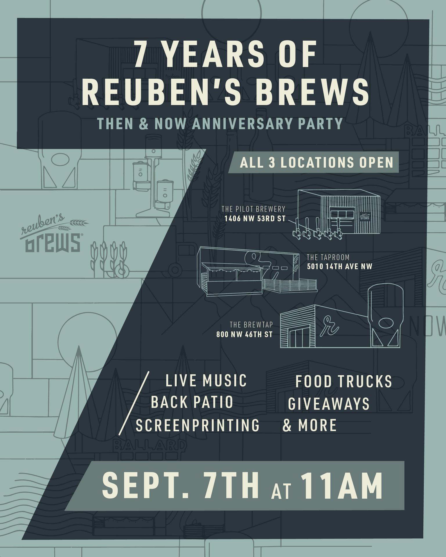 7 Years of Reuben's Brews
