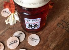 A 1/2 liter of Festbier at Occidental Brewing's Oktoberfest. (image courtesy of Occidental Brewing)