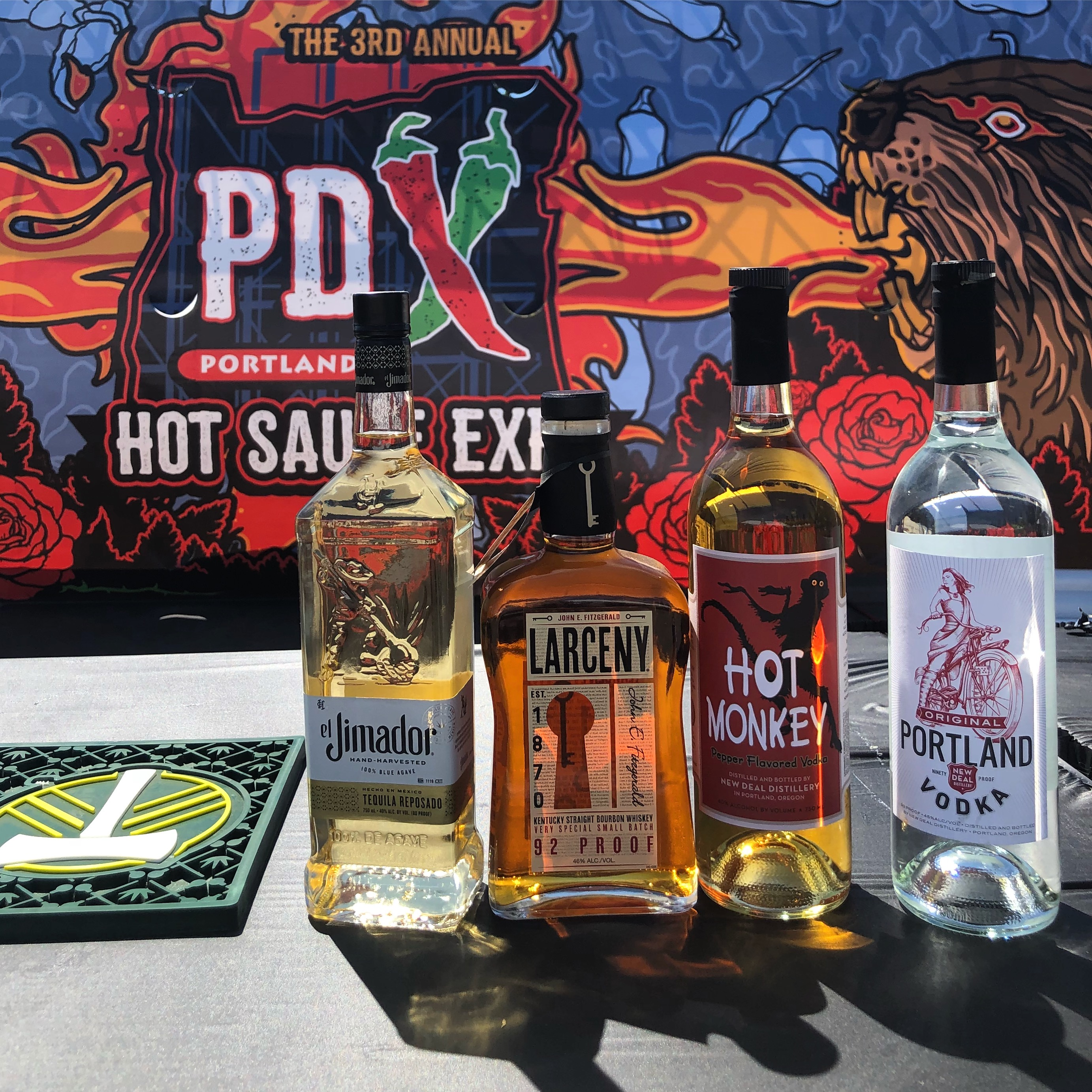 Booze & Infuse Cocktail Competition at the PDX Hot Sauce Expo in Portland, Oregon.