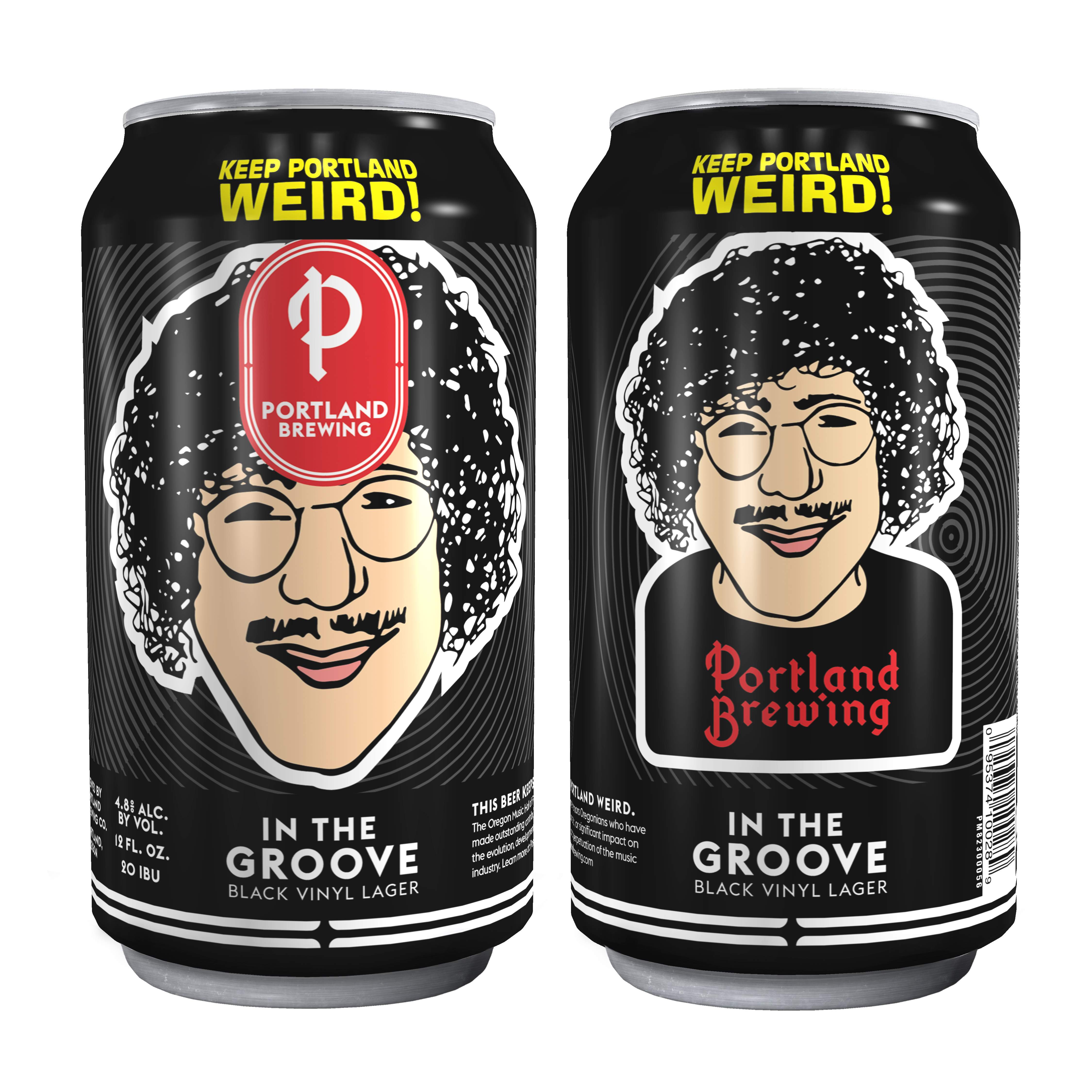 Portland Brewing Co. In The Grove Black Vinyl Lager featuring Terry Currier of Music Millennium