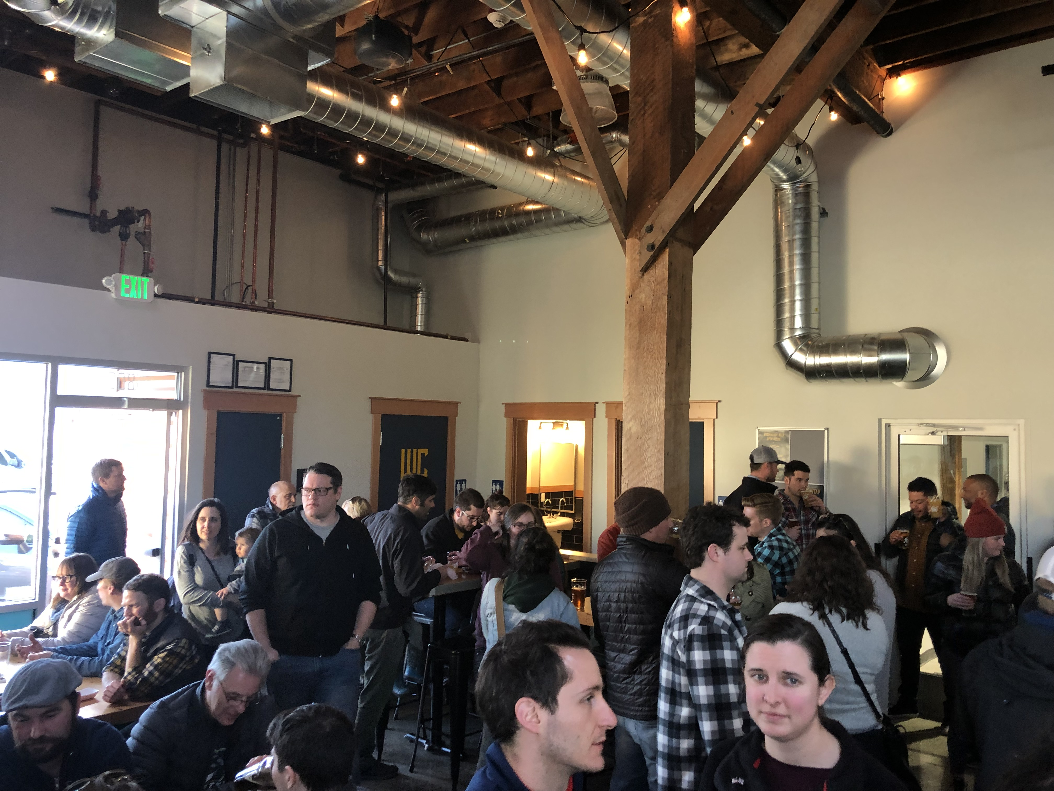 Reuben's Brewtap was very busy during its grand opening earlier this year.