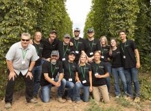 The Hop Terroir team of Coleman Agriculture, Oregon State University and Red Hills Soils. (image courtesy of Coleman Agriculture)