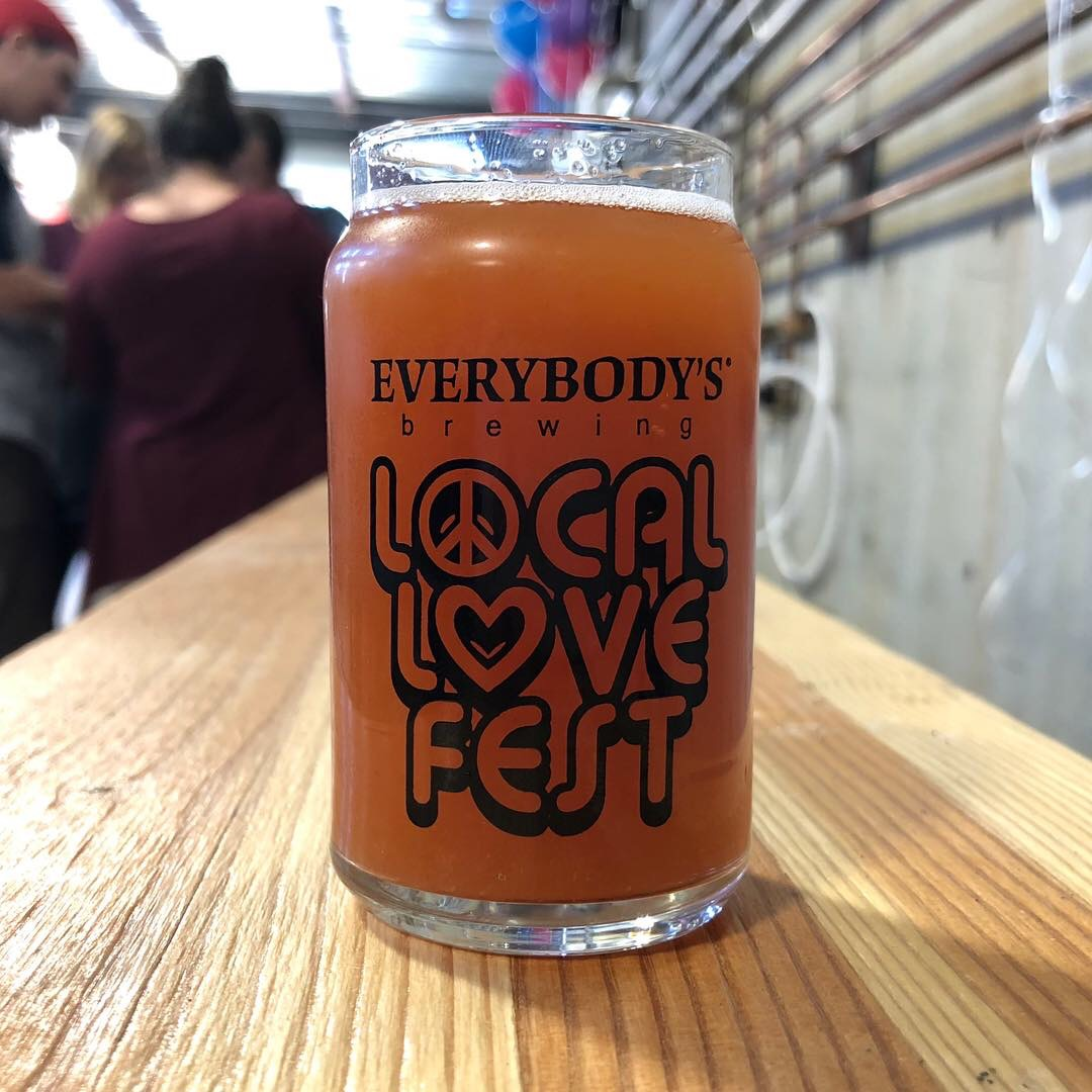 The past two years have been a blast when we've attended Local Love Fest at Everybody's Brewing.