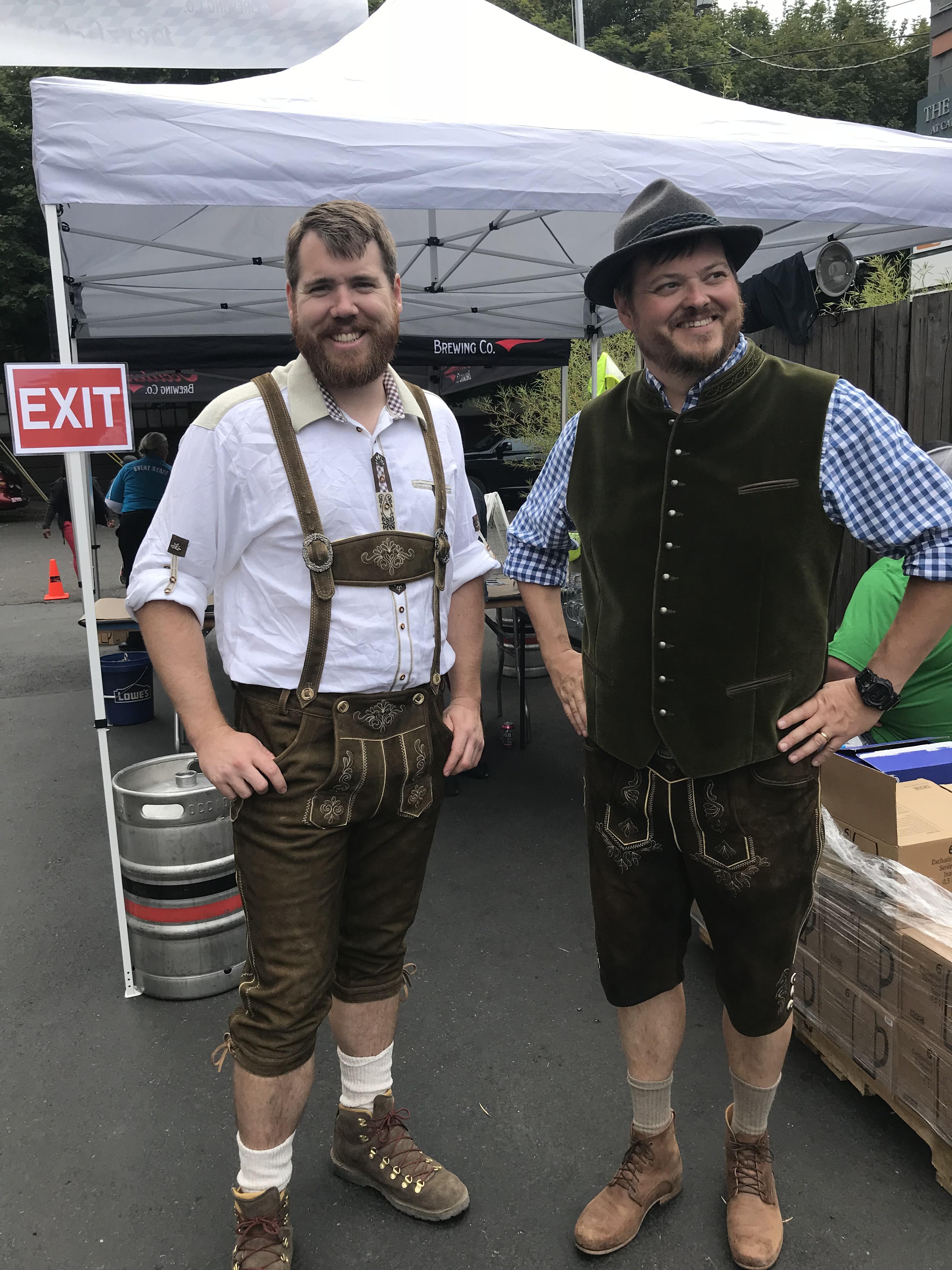image of Ben Engler and Dan Engler courtesy of Occidental Brewing