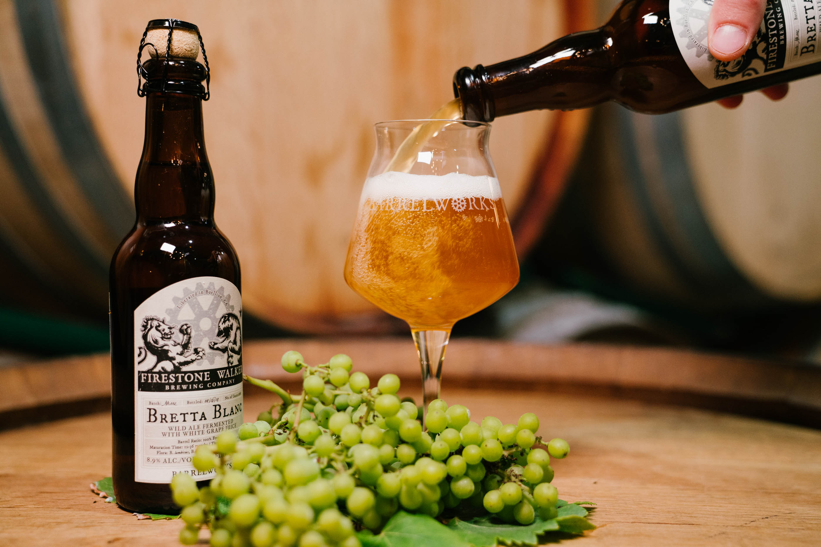 image of Bretta Blanc courtesy of Firestone Walker Barrelworks