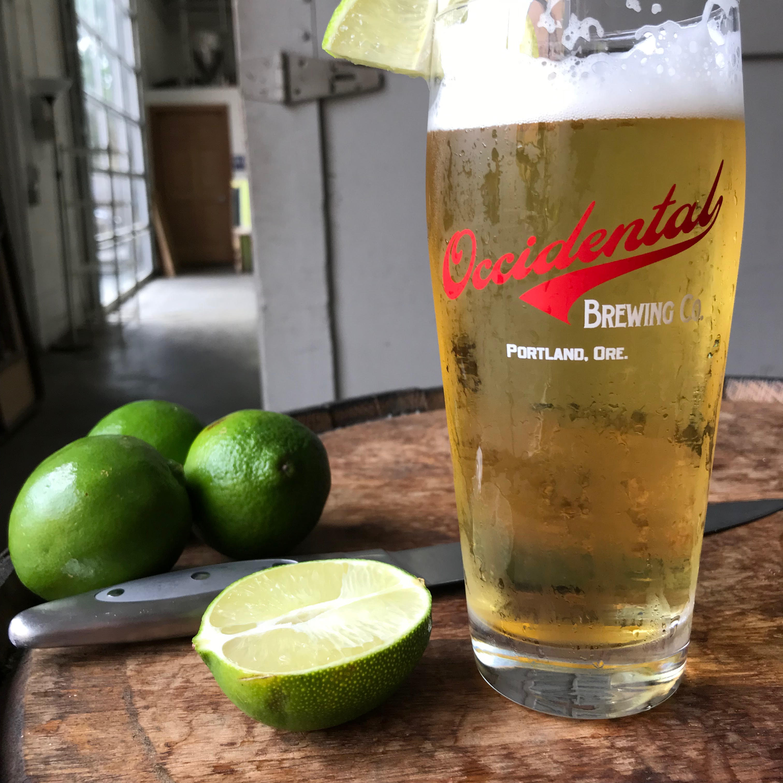 image of Cerveza Clara, a Mexican-Style Lager courtesy of Occidental Brewing