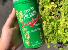 image of Fresh Hop Pilsner courtesy of Occidental Brewing