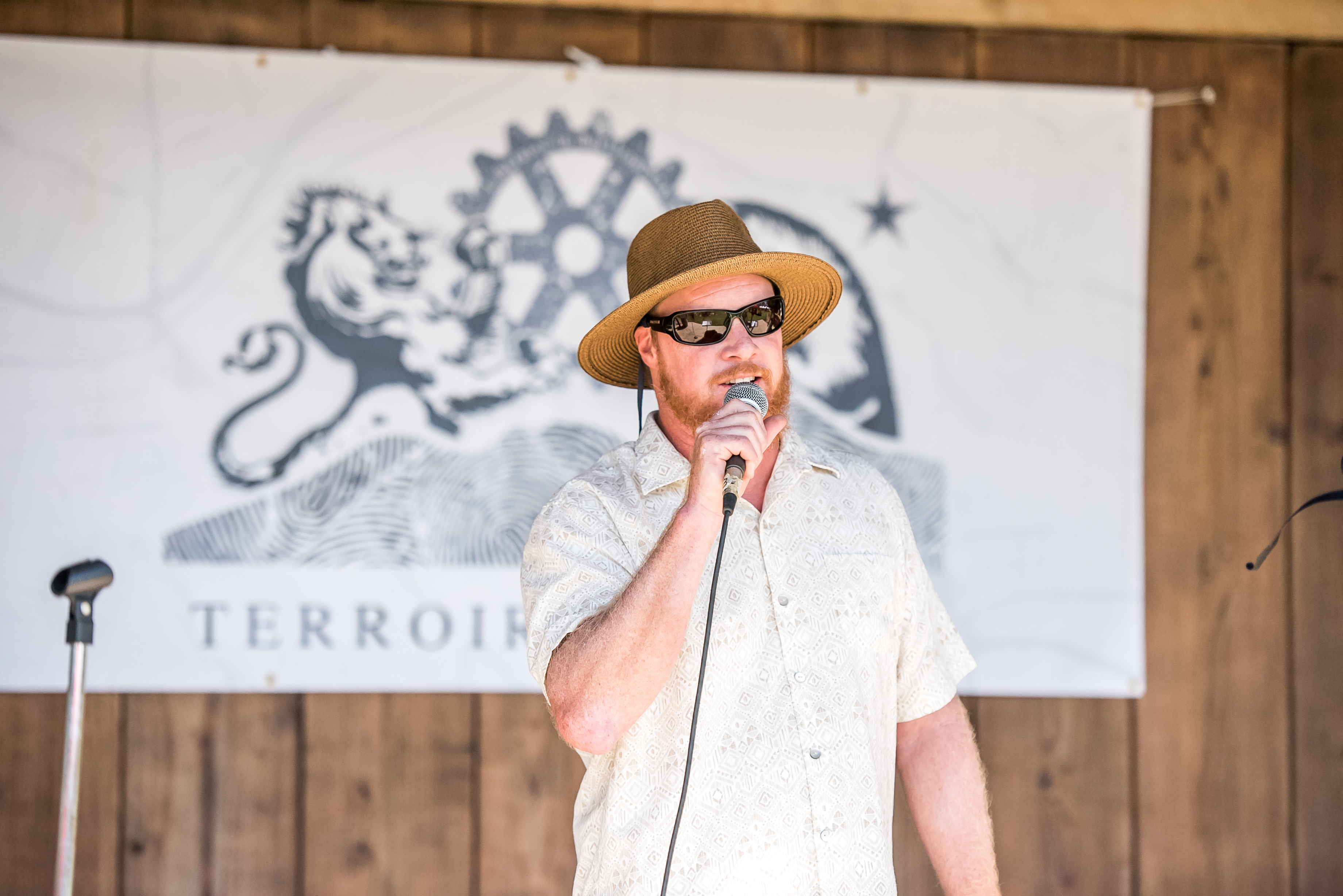 image of Jim Crooks at The Terroir Project courtesy of Firestone Walker Brewing