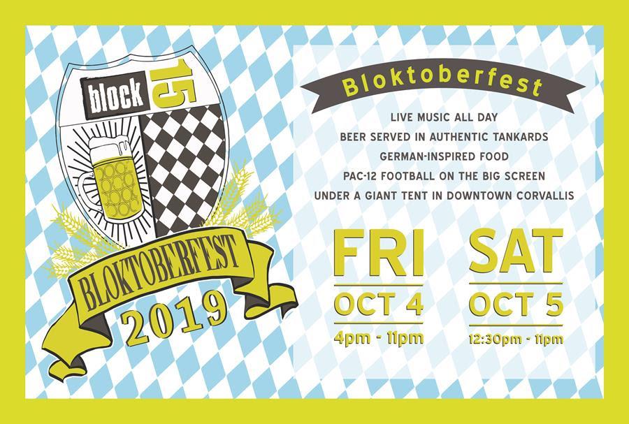 2019 Block 15 Brewing Blocktoberfest - Oktoberfest Celebration