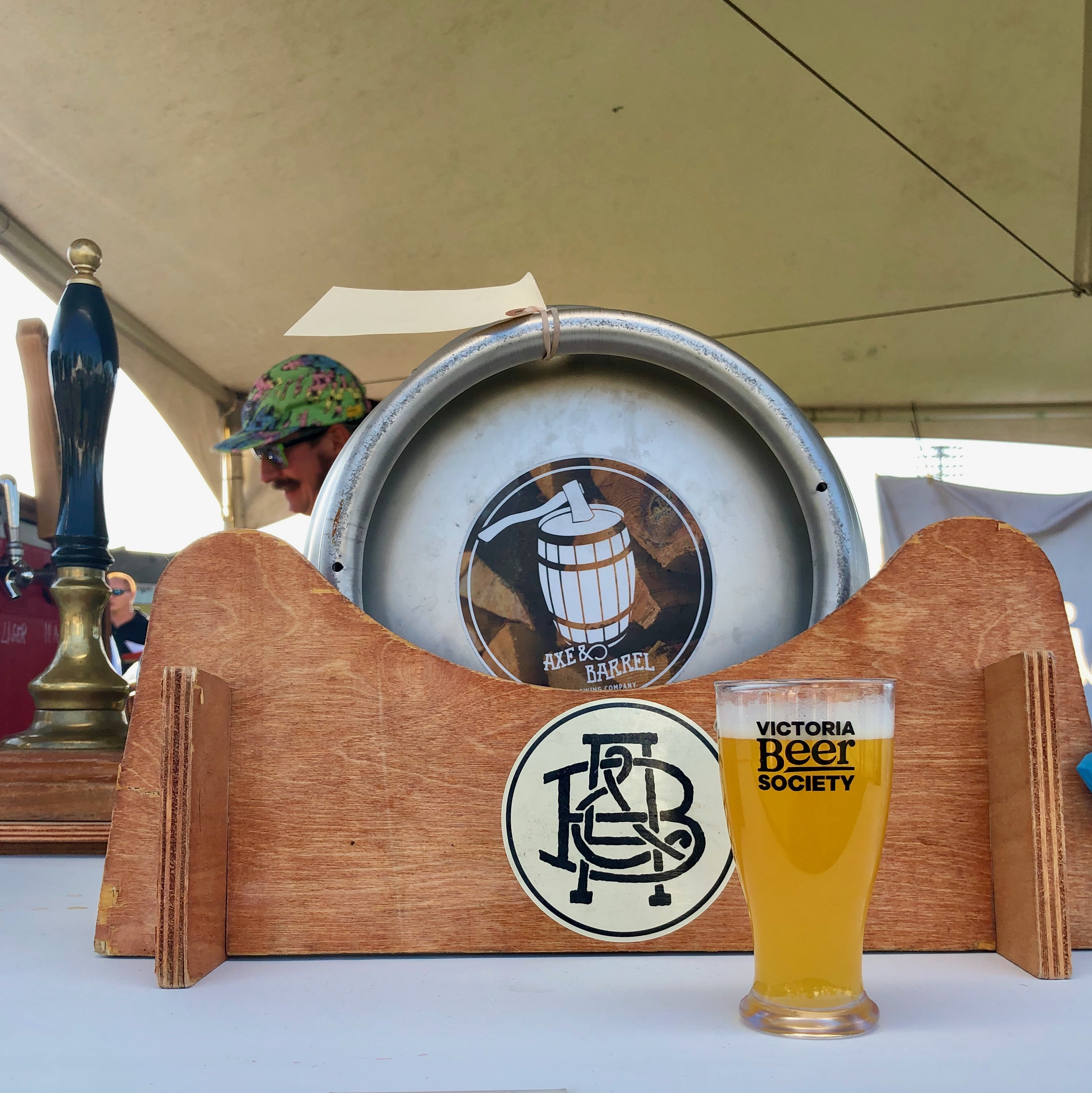 Axel & Barrel brought its beer engine to the 2019 Great Canadian Beer Festival.