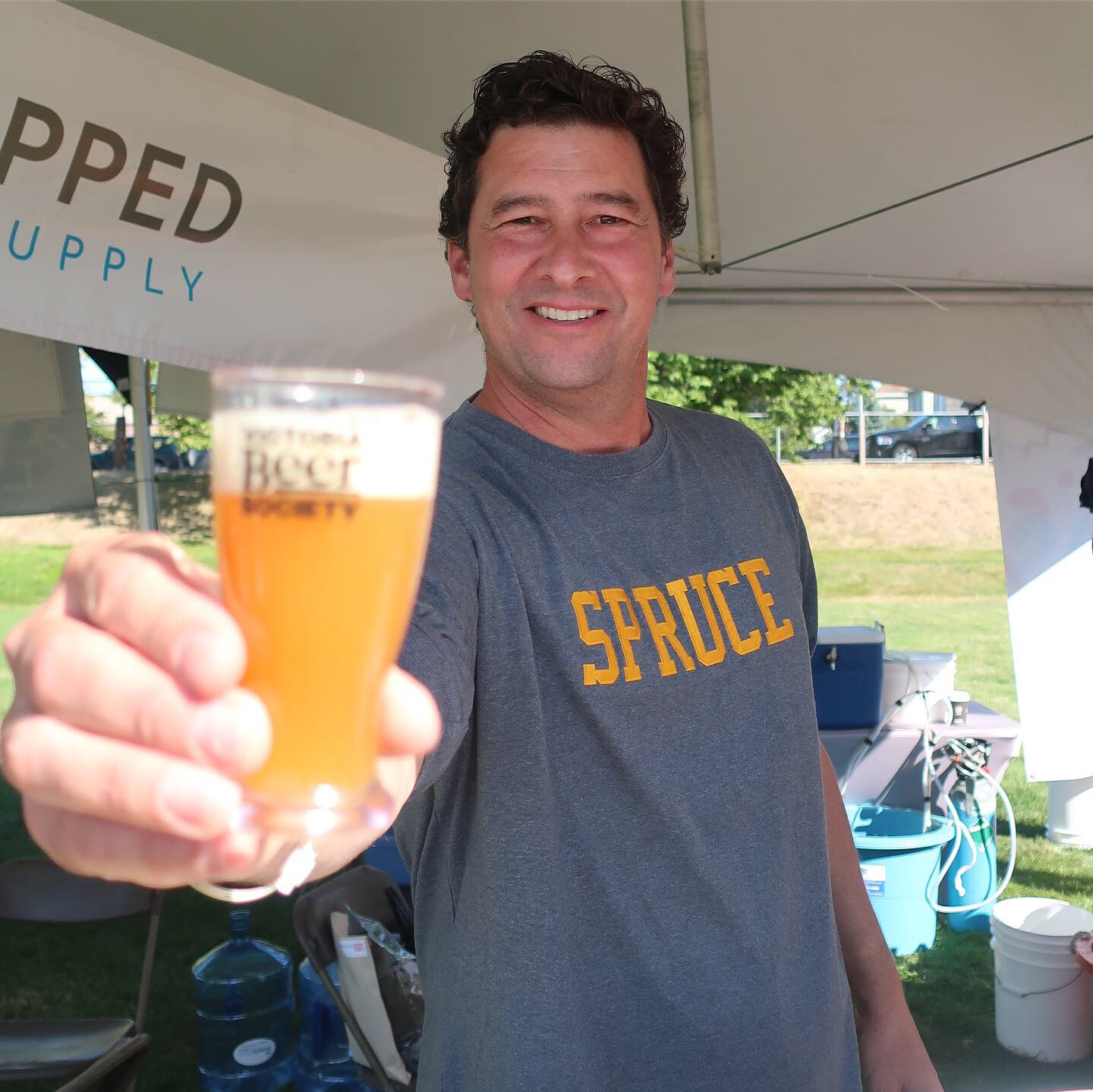 Big Spruce Brewing traveled from Nova Scotia to serve its beers at the 2019 Great Canadian Beer Festival.