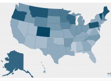 Brewers Association 2018 Economic Impact per Capita (21+ year olds)
