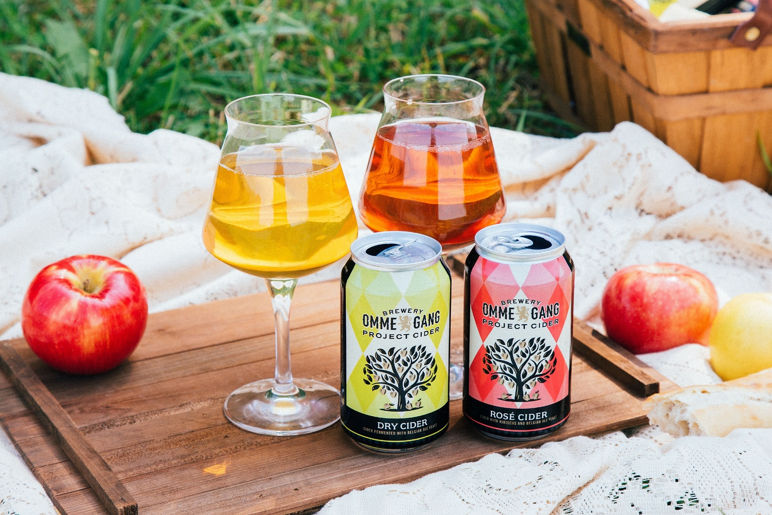 Brewery Ommegang Launches Project Cider with Dry and Rosé. (image courtesy of Brewery Ommegang)