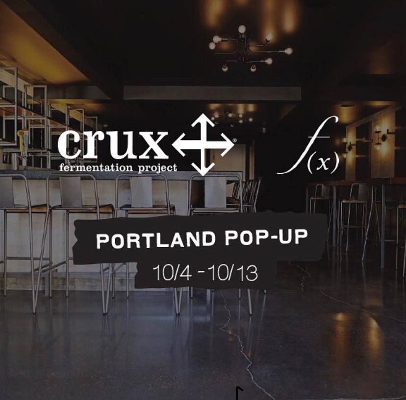 Crux Fermentation Project Portland Pop-Up at Function
