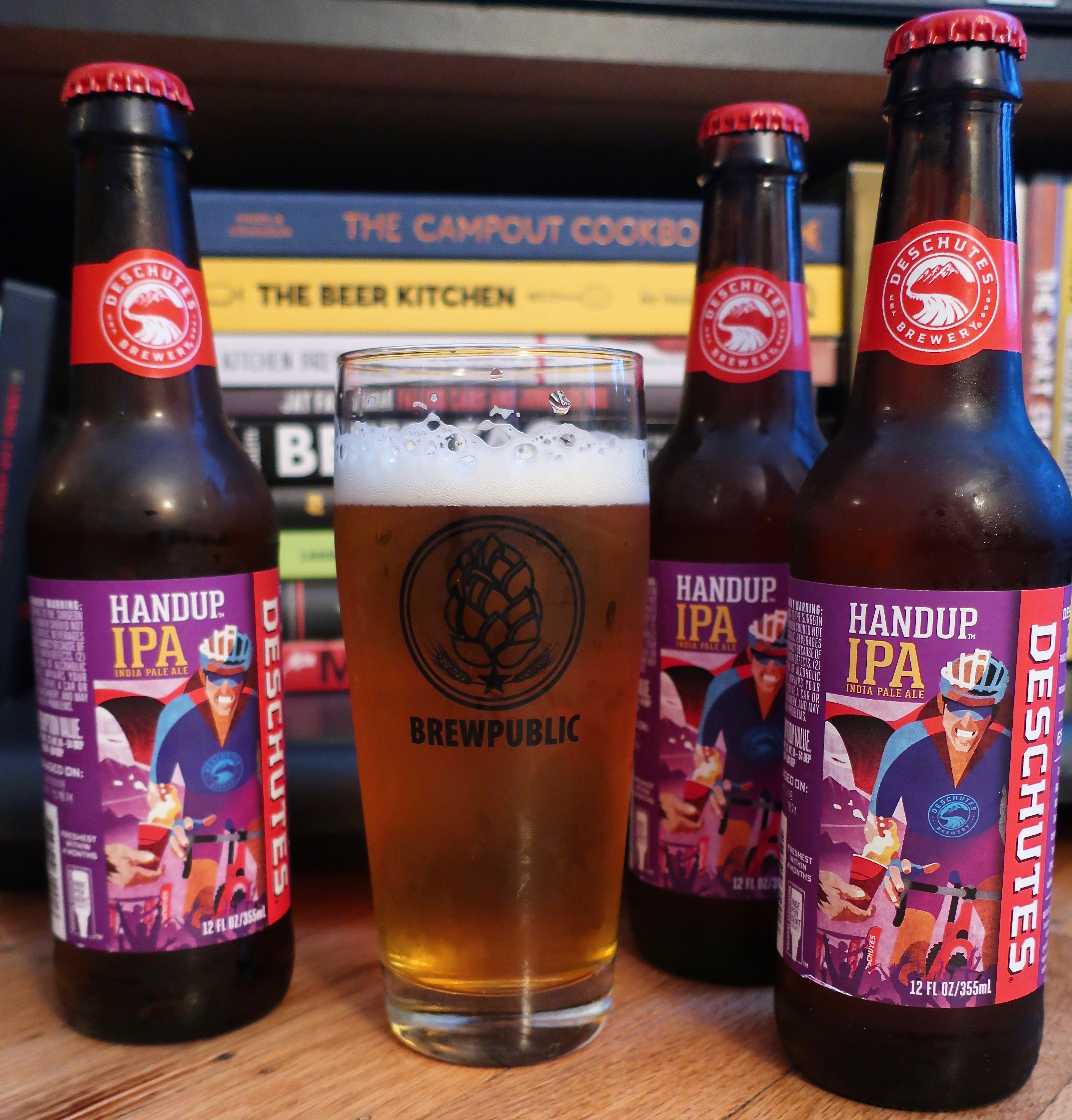 Deschutes Brewery has released a new year-round IPA with its new HandUp IPA.