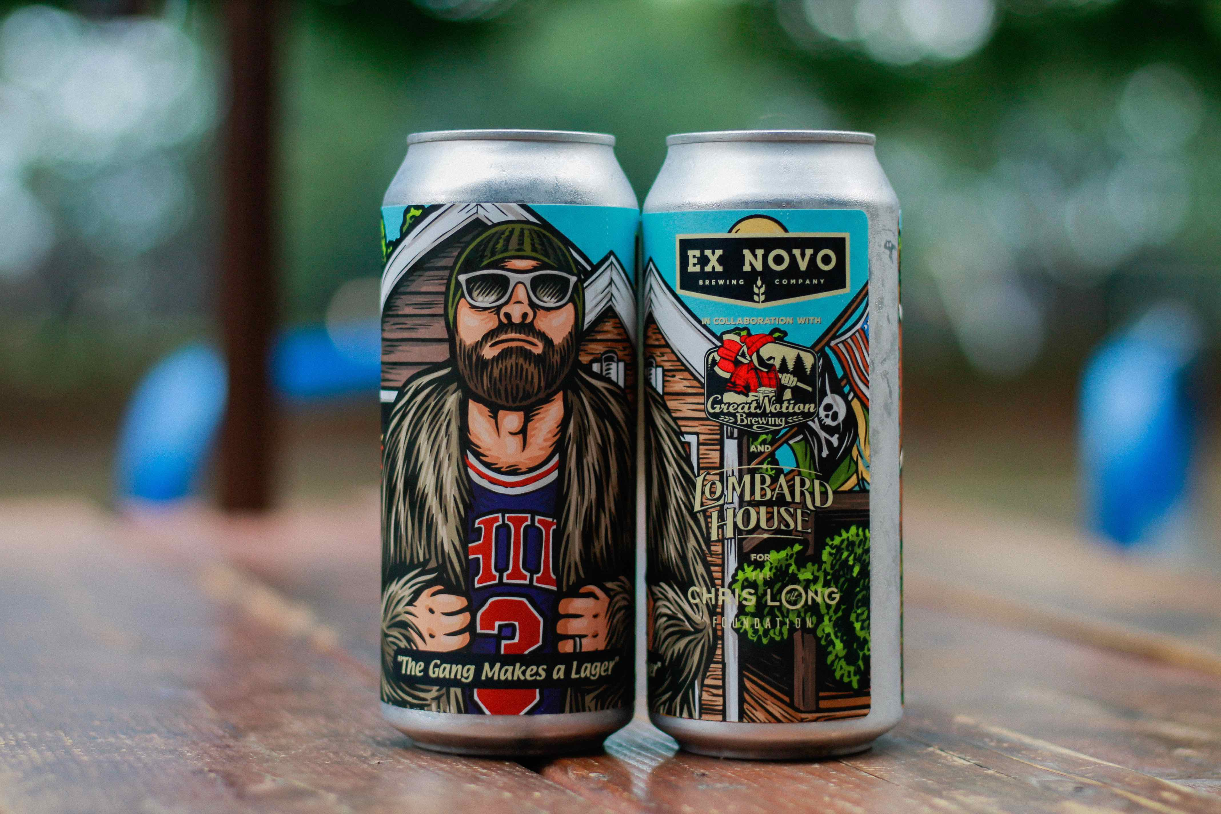 Ex Novo Brewing and Great Notion Brewing The Gang Makes Lager courtesy of Ex Novo Brewing