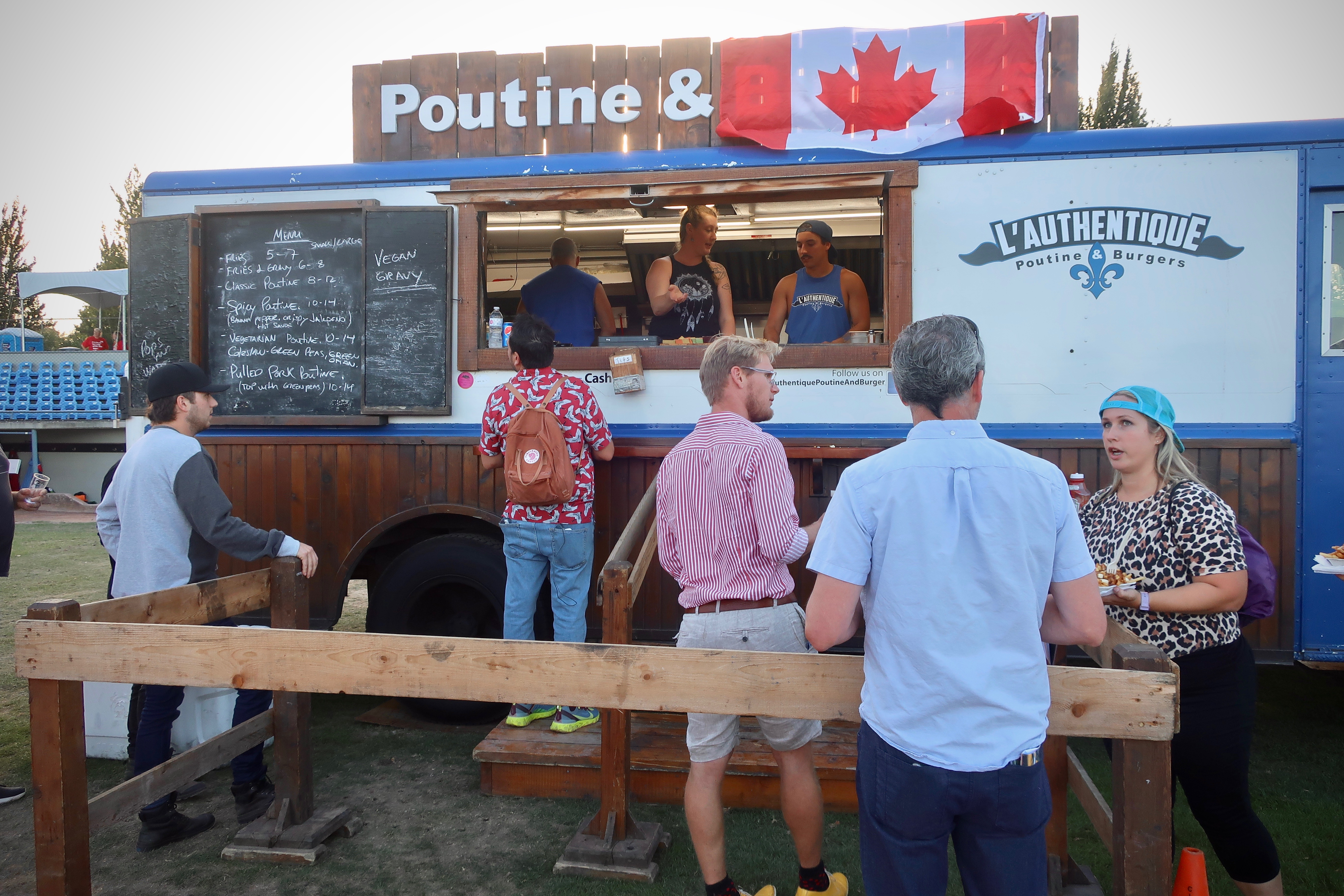 Of course there was a poutine truck at the 2019 Great Canadian Beer Festival.