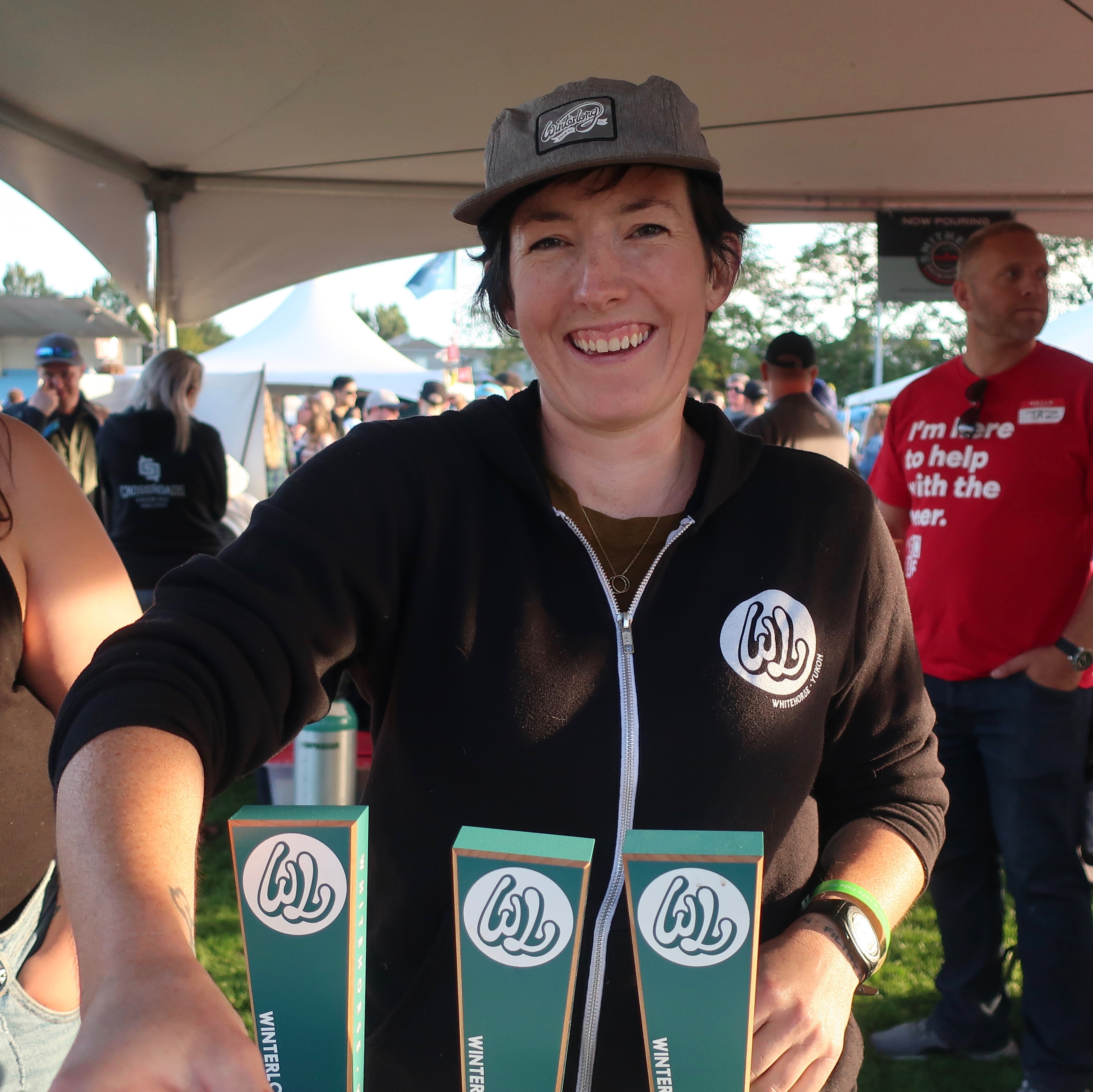 Winterlong Brewing, the sole brewery from Yukon, served its beers at the 2019 Great Canadian Beer Festival.