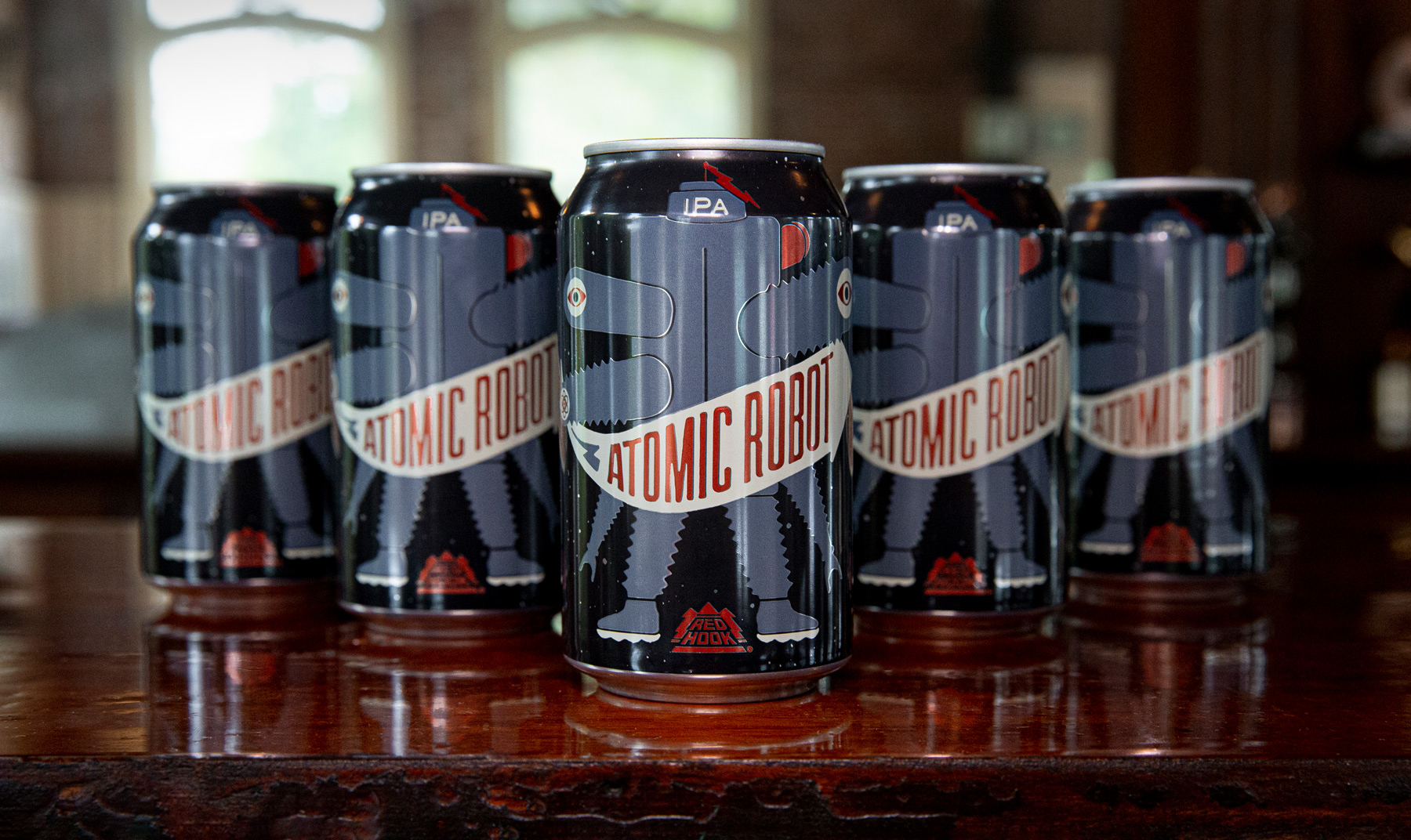 image of Atomic Robot IPA courtesy of Redhook Brewery