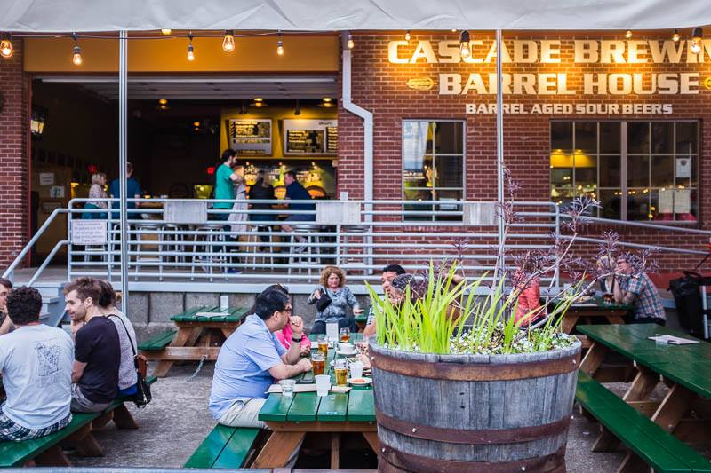 image of Cascade Barrel House courtesy of Cascade Brewing