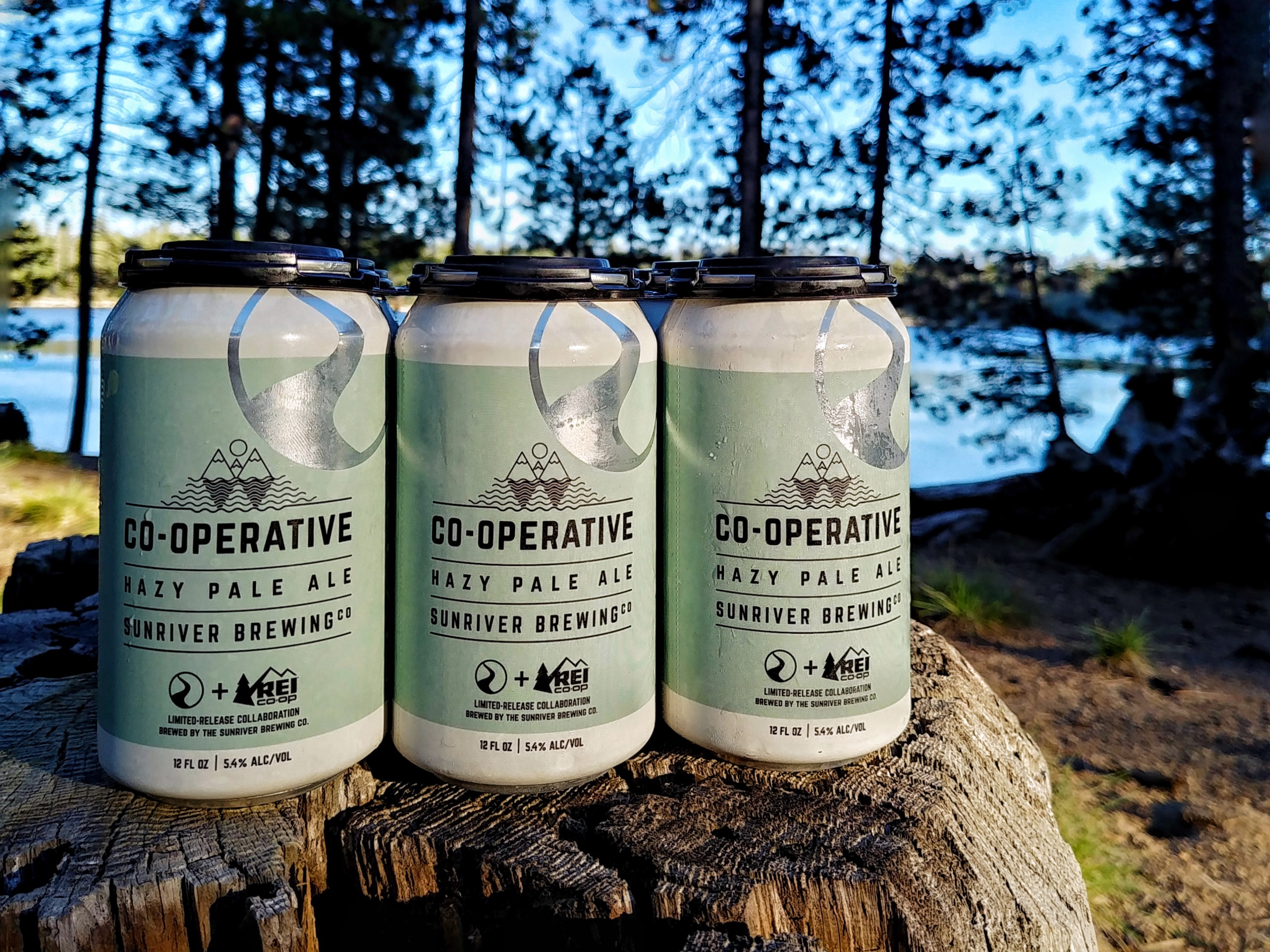 image of Co-Operative Hazy Pale Ale courtesy of REI and Sunriver Brewing