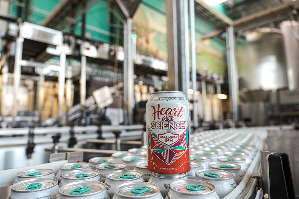image of Heart and Science West Coast IPA courtesy of Ninkasi Brewing
