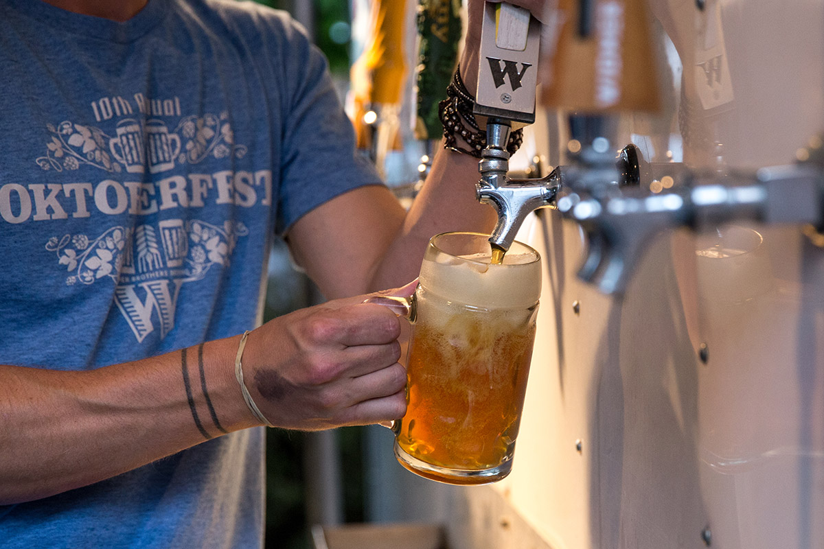 image of Oktoberfest courtesy of Widmer Brothers Brewing