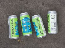 image of Fresh Hop Punk Rock Time is courtesy of Baerlic Brewing