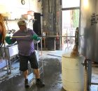 image of Ross Quenzer, winner of the Lompoc Brewing Cascadia Homebrew Competition courtesy of Lompoc Brewingjpg
