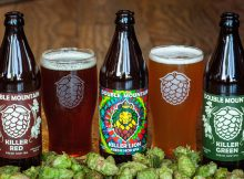 image of fresh hop beers courtesy of Double Mountain Brewery