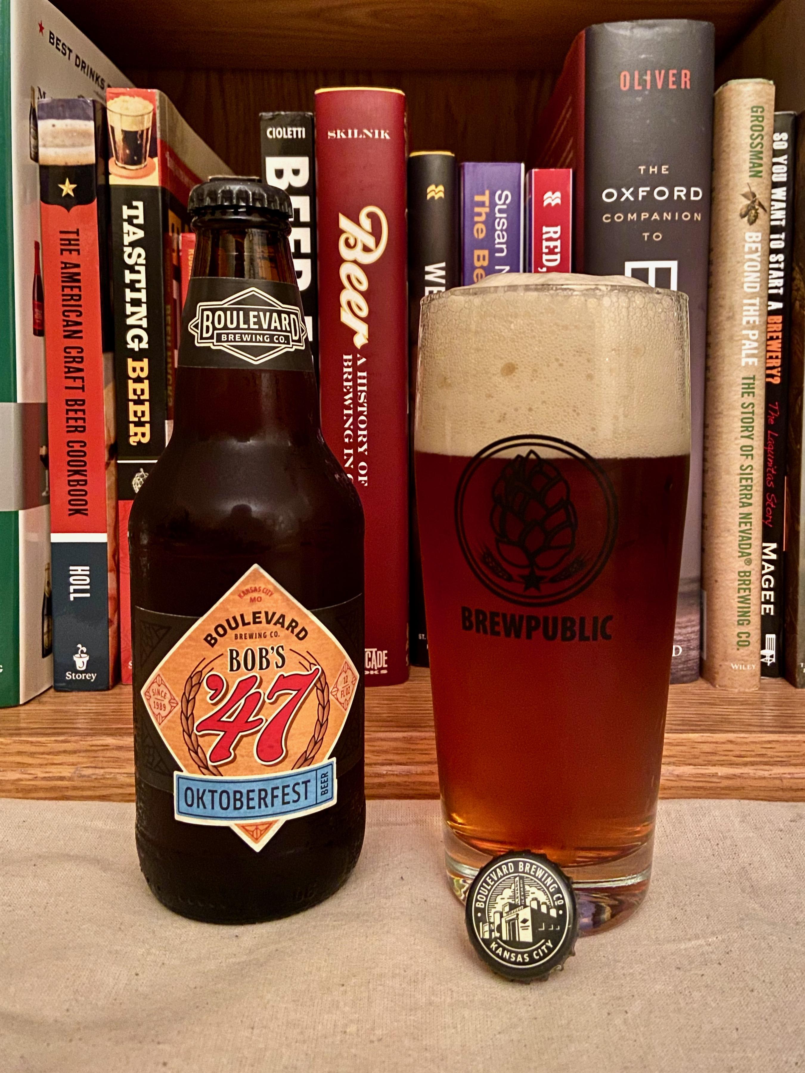 A longstanding Oktoberfest beer, Bob's 47 returns from Boulevard Brewing.