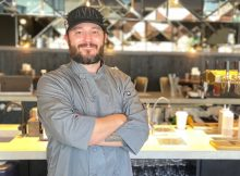 Executive Chef Joshua Anderson at Avid Cider Co. & Kitchen in Portland's Pearl District.