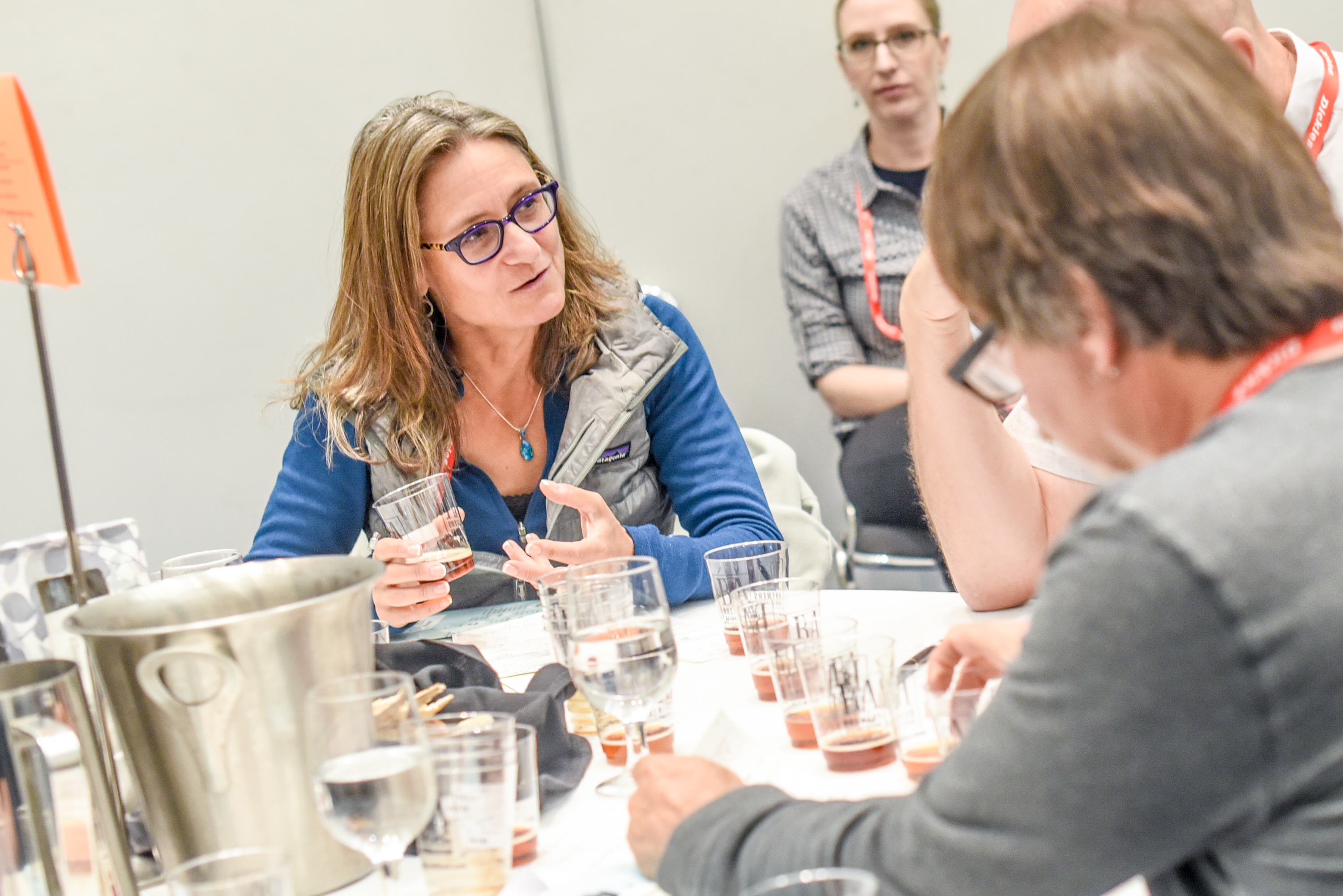 Judging at the 2019 Great American Beer Festival - Photo ©Brewers Association