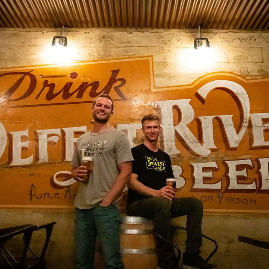 image courtesy of Defeat River Brewery Facebook Page