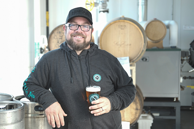 image of Andrew Hroza, Excecutive Chef of the forthcoming The Ninkasi Better Living Room courtesy of Ninkasi Brewing