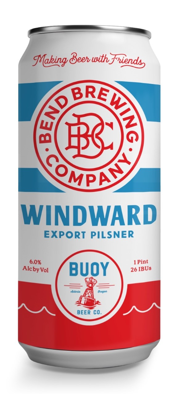 Bend Brewing and Buoy Beer Windward Export Pilsner