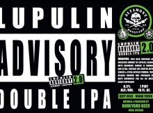 Boneyard Beer and Altamont Beer Works Lupulin Advisory Double IPA label