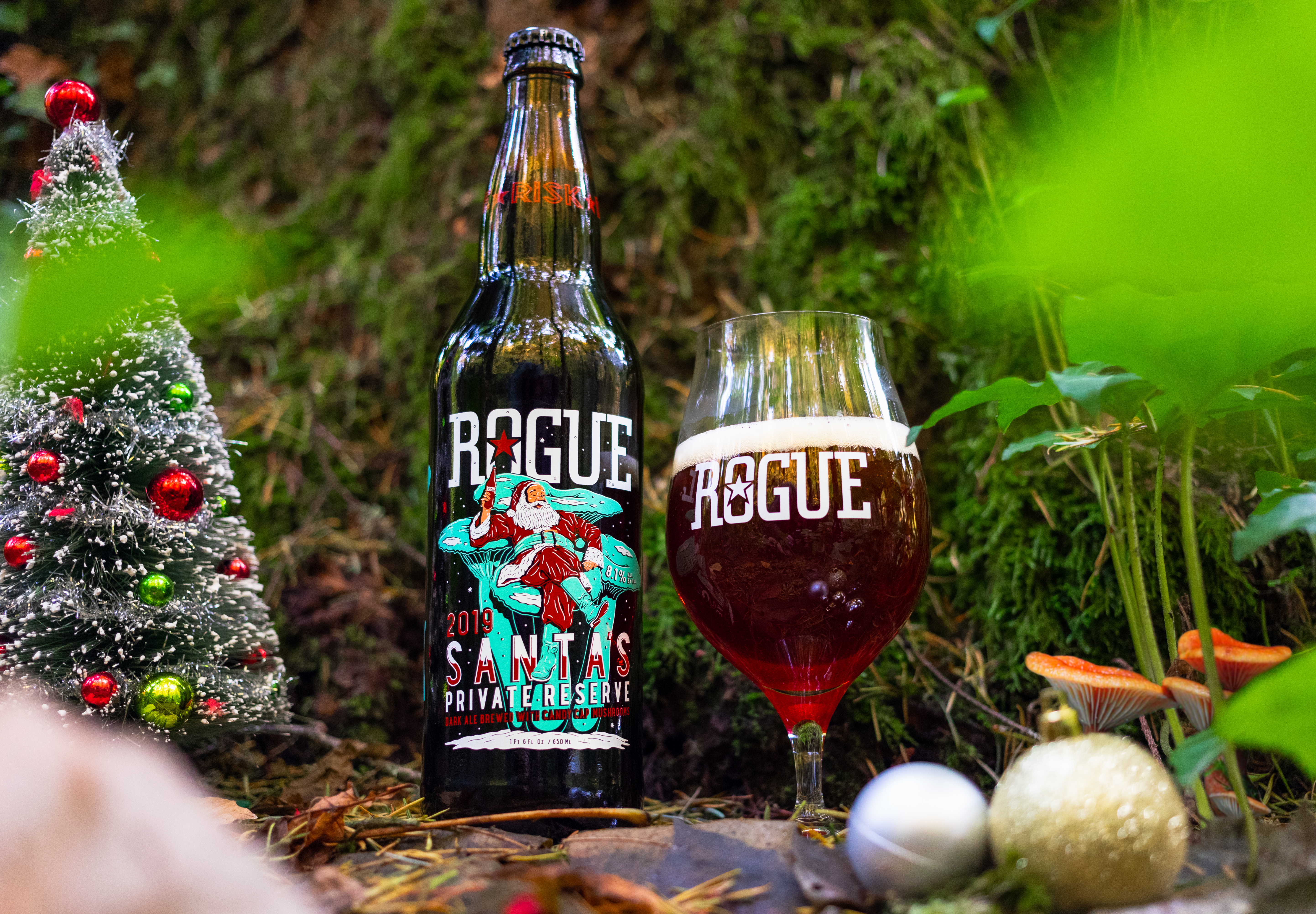 image of 2019 Santa's Private Reserve courtesy of Rogue Ales