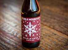 image of Fa La La La La Winter Ale courtesy of Double Mountain Brewery