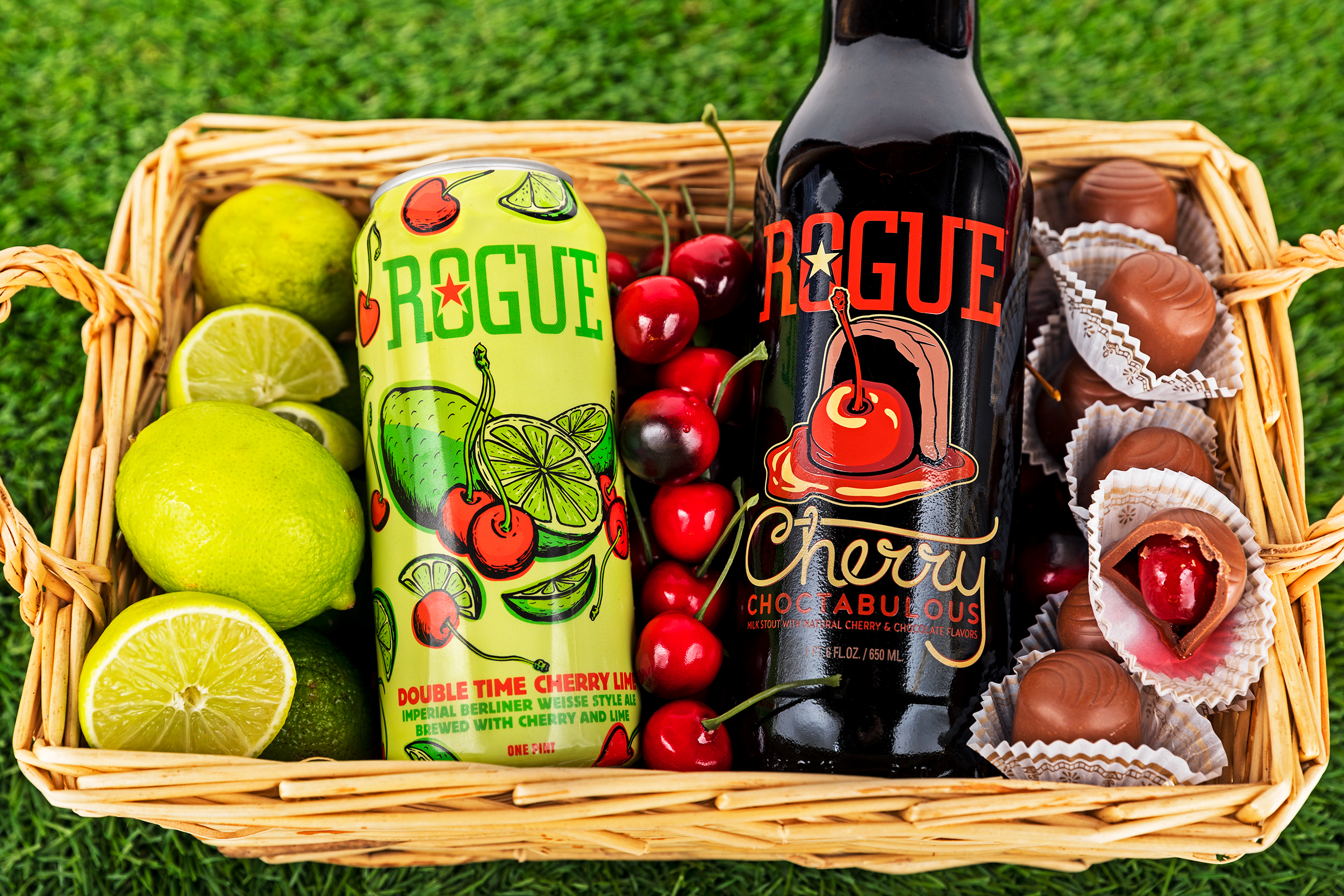 image of Rogue Cherry Lime and Cherry Choctabulous courtesy of Rogue Ales