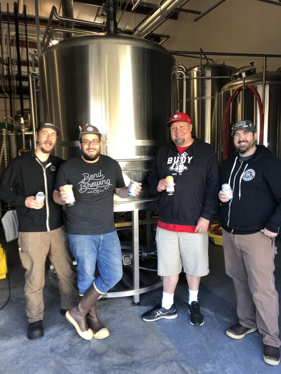 image of Windward brew day courtesy of Bend Brewing Co.