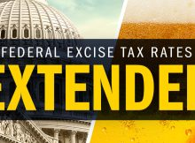 Beer Federal Excise Tax Rates Extended Through 2020