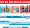Deschutes Brewery 2020 Beer Release Calendar
