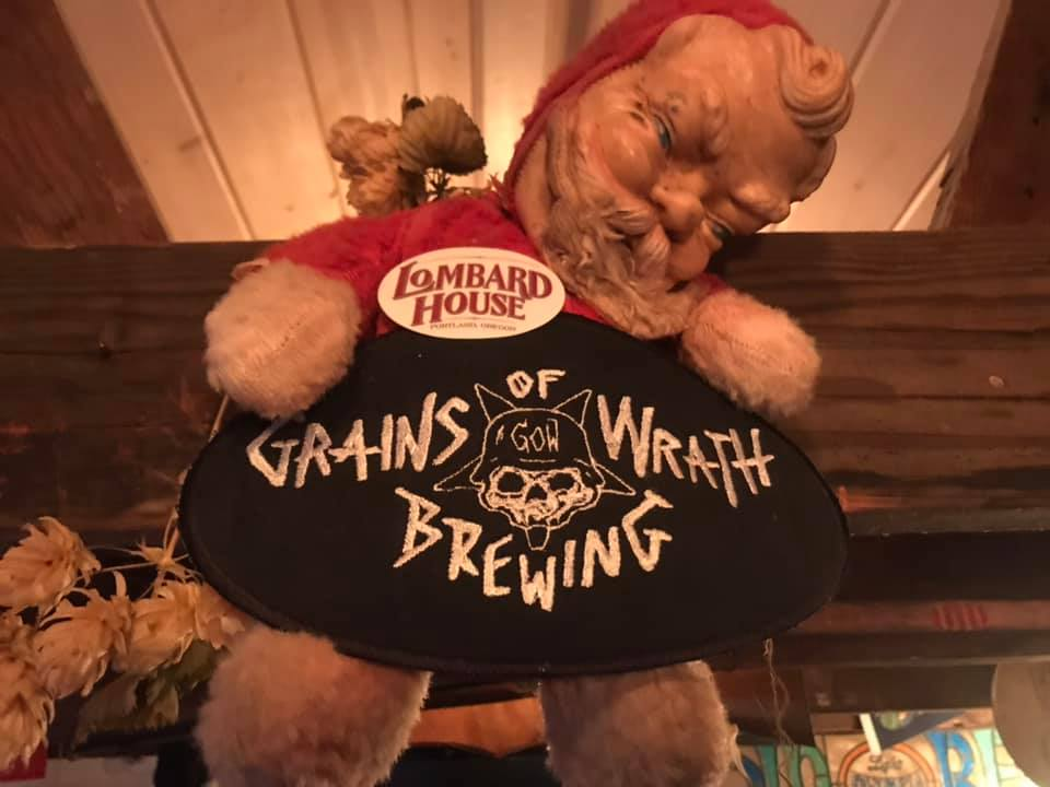 Lombard House to Host Wrath of Christmas: Grains of Wrath Double Doink IIPA Release Party