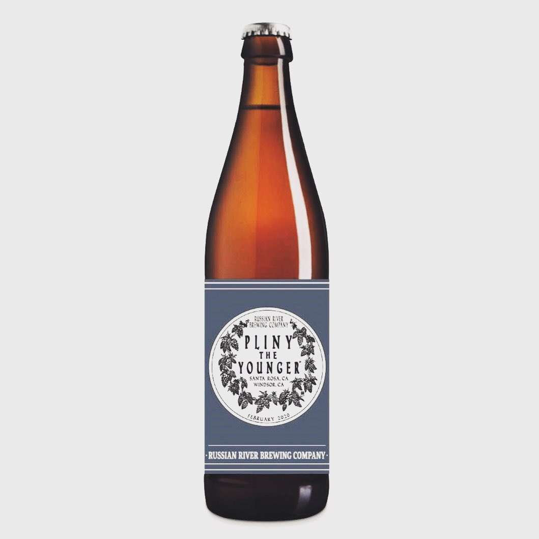 Russian River Brewing Pliny the Younger will be bottled in 2020.