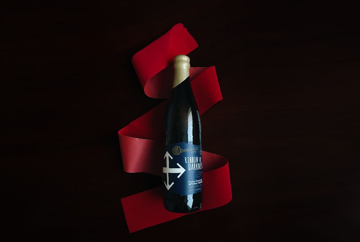 image of Ribbon of Darkness - Bourbon Barrel-Aged Imperial Porter courtesy of Crux Fermentation Project