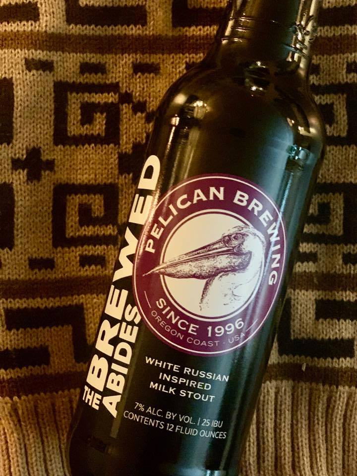image of The Brewed Abides courtesy of Pelican Brewing