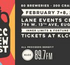 2020 KLCC Brew Fest at Lane Events Center